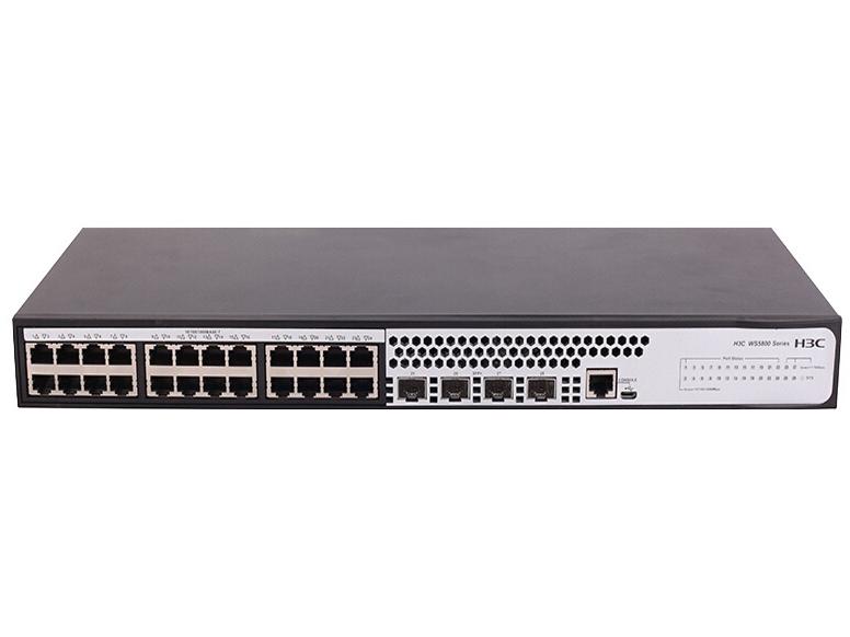 H3C WS5850-28X-DP-WiNet 24口 千兆二层网管以太网交换机