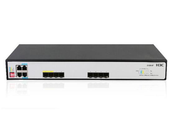 H3C S1200-8F 4电,8光,全第千兆 交换机