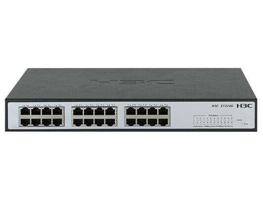 H3C S1324G 24口全千兆桌面交换机