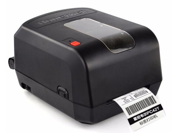 霍尼韋爾 PC42T 標簽條碼標簽機熱敏不干膠打印機 自動測紙功能