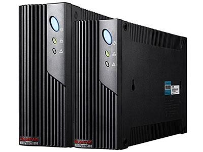 山特  MT500/1000 PRO  后备式UPS MT- pro系列是智能上网型UPS,可提供各种通讯连接方式的电源管理方案。采用先进的CPU集成控制技术,并拥有超宽电压输入范围和独特的立式、卧式、机架 式三种安装方式;还特别配置稳压输出电源插座、浪涌保护插座和智能插卡,是中小企业、政府及教育等行业的服务器、网络设备及工控产品的理想保护电源。