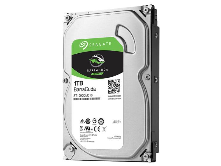 希捷 ST 1000DM010 1T 7200转  台式机硬盘