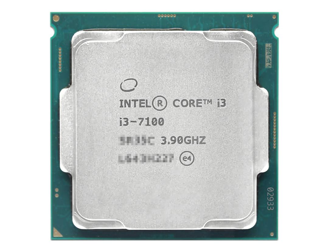 英特尔酷睿处理器 i3-7100