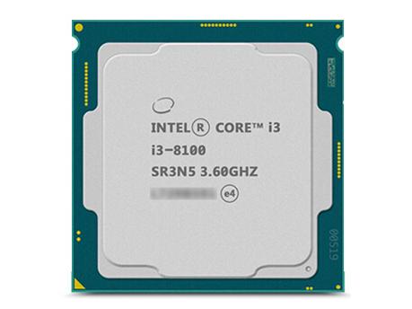 英特尔酷睿处理器 i3-8100