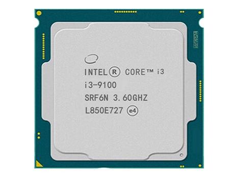英特尔酷睿处理器 i3-9100