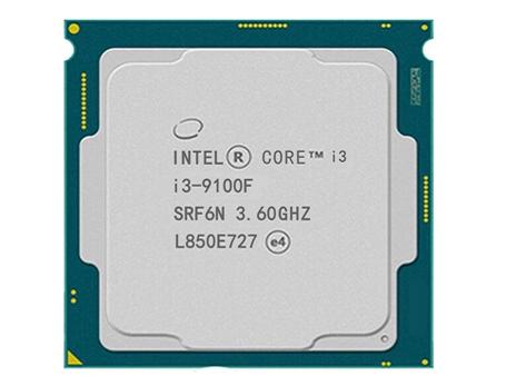 英特尔酷睿处理器 i3-9100f