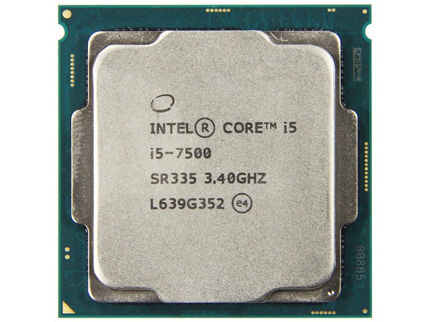 英特尔酷睿处理器 i5-7500