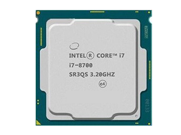英特尔酷睿处理器 i7-8700