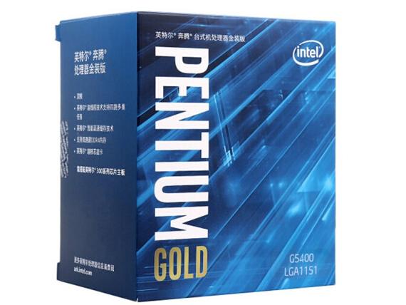 Intel/英特尔 酷睿 G5400 盒装处理器CPU