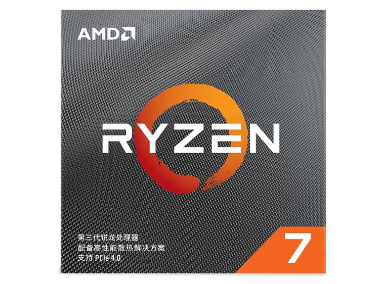 AMD 锐龙 R7 3700X 盒装CPU