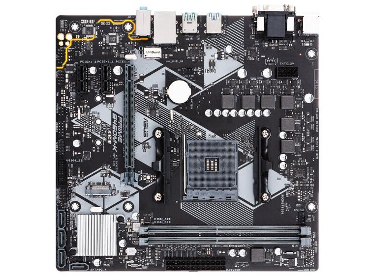 华硕 B450M-K AMD主板
