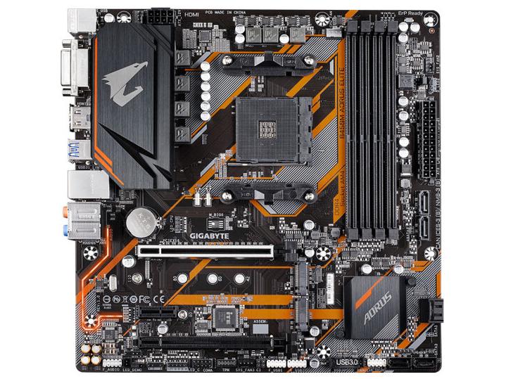 技嘉 B450M AORUS小雕 AMD主板