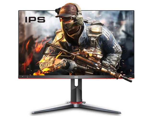AOC 27G2 27英寸 IPS 广色域 144Hz  电竞显示器
