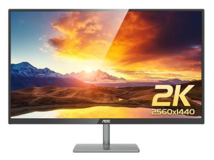 AOC Q2789VU/BS 27英寸2K台式IPS电脑游戏显示器