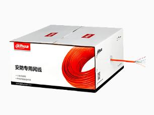 大华 DH-PFM920I-5EU 室内非屏蔽超五类 0.5mm-橙色-305m