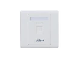 大华 DH-PFM971-1 平口面板-白色-1口 10个/盒