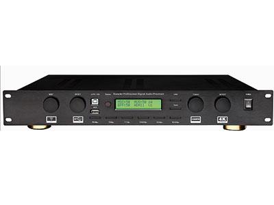 "QSN(英国) KF2606通道家庭影院可唱K数码功放  ""1.专业KTV前置效果器和影院5.1音频解码处理器的完美结合。 2.KTV模式和影院模式,自动切换模式和一键切换模式,每个相关通道参数均独立可调。 3.采用32位高性能高运算DSP,高信噪比专业AD/DA,使用24位/48K纯数字采样。 4.独特的麦克风反馈拟制算法,有8级强度可调。 5.专业演唱的回音效果,有单声道回声/立体声回声/双回声三种类型,可自由地调整。 6.多样可选的混响效果,有大厅/房间/板房三种类型,满足不同的要求。 7.麦克风激励器,使歌唱变得轻松自如。 8.光纤和同"