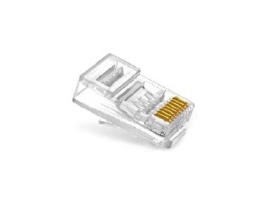 大华 DH-PFM976-631 6类15μ一体式水晶头(100个/包)