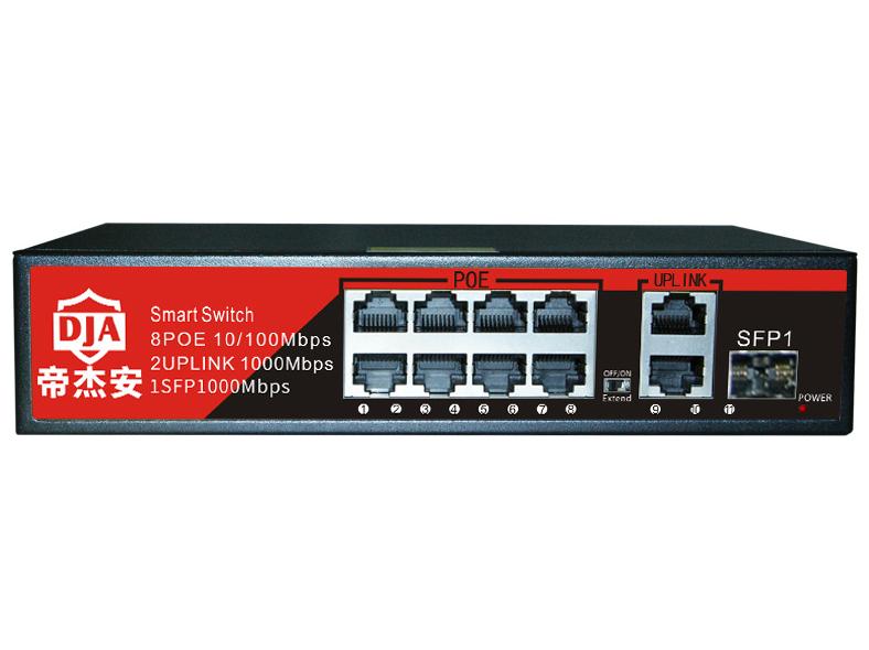 帝杰安 DF-1011GB 111口千兆标准POE 交换机