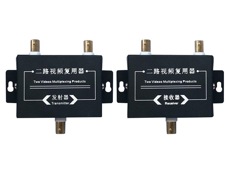 帝杰安 二路视频复 合器AHD 模拟 DF-8602