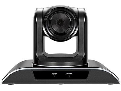 """VP-HD20XU (国产机芯) """"▶摄像机表面亚克力处理,呈现专业,高档的一体化的造型设计 ▶视角63度  ▶高清20倍光学镜头USB会议摄像机, ▶采用1/3英寸,210万有效像素HDCMOS传感器, ▶USB2.0视频输出,免驱动,即插即用 ▶多种控制方式和多种控制协议(VISCA协议/Pelco-D), ▶支持USB接口线控,升级,支持遥控器一键倒装。 ▶255个位置预设位,1080P30,720P30向下兼容所有分辨率"""