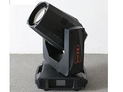 """美辉  380W光束灯 """"1.电.压:AC110-240V 50/60HZ 2.光源:380定制灯泡 3.光角:0-1.8° 4.特点:百变棱镜王,内置5种棱镜效果,可叠加11种棱镜变化,采用全新智能主板,智能RMD功能远程调地址码,支持智能倒显,智能控温控速,智能防阻扰功能。 5.通道:16/20/24通道 6.调光:机械线性调光0~100 7.色温:6700K/4500k/3200k 8.颜色:13个色片+白光【可半色效果】。 9.图案:一个固定盘(18个固图),一个效果盘(4种效果) 10.棱镜:5个菱"""