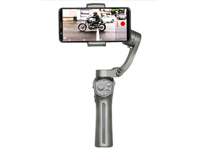 百诺  P1手机稳定器vlog视频直播采访自拍摄像无线充电手持稳定器