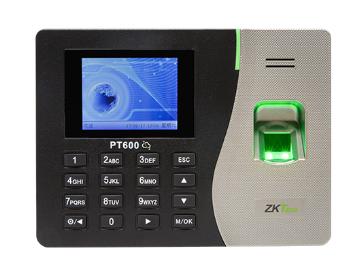 中控 指纹识别考勤终端云智PT600彩屏 其采用2.8寸高清彩屏,简洁的结构设计,符合人体工程学原理,精巧而又不失大方,线条柔美、外观时尚