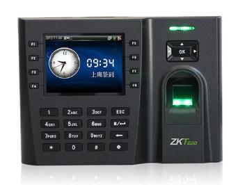 中控 指纹识别考勤终端JT500 采用3.5寸高清大彩屏,带来绝佳的视觉显示效果,该产品支持指纹容量高达6000枚