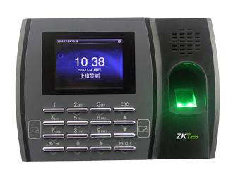 中控 指纹识别考勤终端新u8 2.8寸高清彩屏 用户数10000人 指纹容量3200枚 记录容量80000条