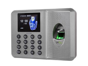 中控 指纹识别考勤终端XU100 采用2.4寸高清彩屏,超薄、简约的结构设计,突显时尚美观的造型,整机采用的倾角设计,符合人体工程学