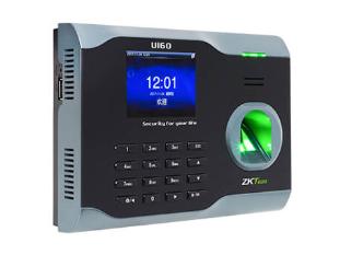 中控 指纹识别考勤终端U160 2.8寸高清彩屏 用户数30000人 指纹容量3200枚 记录容量12万条