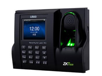 中控 指纹识别考勤终端U560 2.8寸高清彩屏 用户数30000人指纹容量3200枚 记录容量120000条