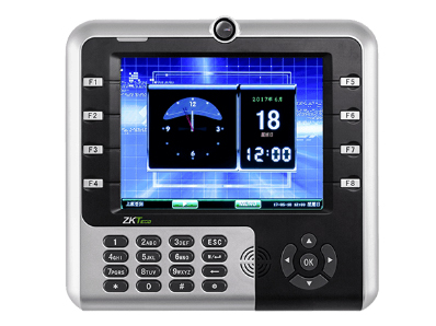 中控 指纹识别考勤终端IM2500 8寸高清TFT彩屏 用户数30000人 卡容量30000张 记录容量10万条