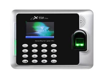 中控 指纹识别考勤终端X938plus 3寸高清彩屏 用户数10000人 指纹容量3200张 记录容量8万条