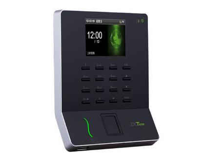 中控  指纹识别考勤终端W8 2.8寸高清彩屏 用户数1000人 指纹容量1000枚 记录容量50000条