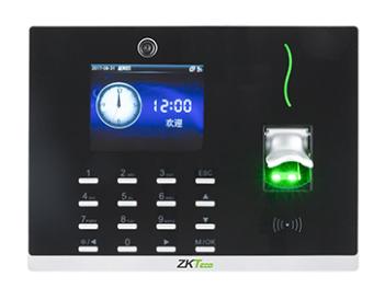 中控 指纹识别考勤终端CS800 5寸彩屏,黑、白两色可选,此产品采用ZMM100硬件平台