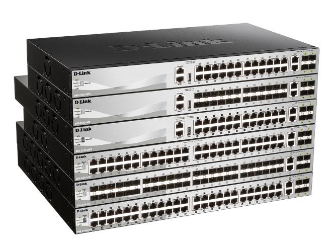 D-LINK DGS-3130系列千兆三层全网管交换机 支持组播特性及增强的安全特性,使得DGS-3130成为理想的千兆接入解决方案。