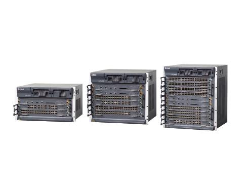 D-LINK DES-8500 系列万兆核心路由交换机 大容量、高性能核心 路由交换机具备L2/L3/L4 线速交换能力
