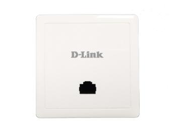 D-LINK DI-800WF 802.11AC Wave2 1200M面板式无线AP 支持标准POE供电,支持AC统一管理