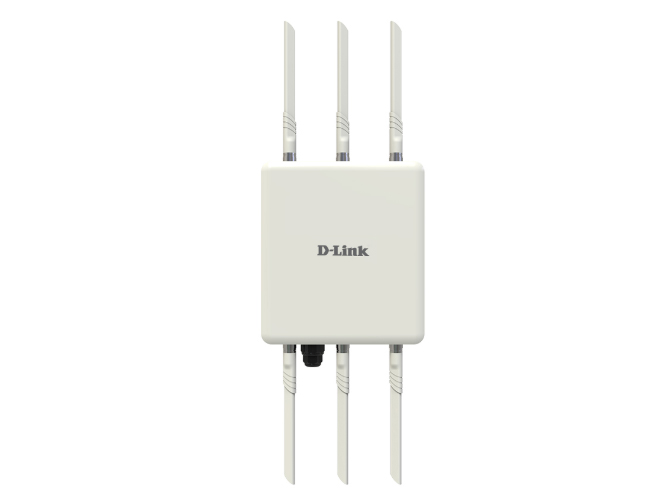 D-LINK DI-900WO 802.11ac 1750M室外无线AP 支持标准POE供电,支持AC统一管理,支持外接天线