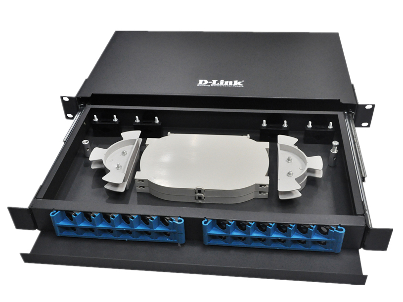 D-LINK 48路光纤配线架(机架)