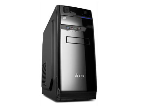 金河田机箱家悦7002B电脑主机箱台式机箱电源套装atx静音办公机箱