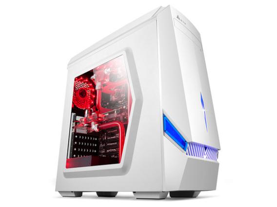金河田G6台式主机电脑空箱atx大侧透静音背线USB3.0游戏水冷机箱