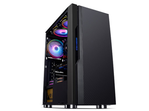 金河田预见p30全侧透台式机电脑机箱ATX机箱电源下置水冷游戏机箱