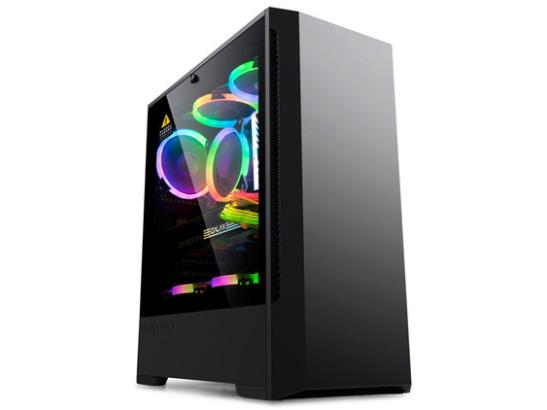 金河田P2机箱台式机电脑主机箱atx大板全侧透水冷游戏机箱USB3.0