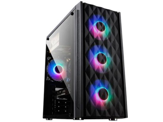 金河田炫豪7b机箱大侧透水冷台式机电脑主机箱USB3.0游戏背线机箱