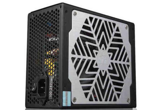 金河田ZP700P白金版额定700w台式机电源宽幅静音电源电脑台机电源