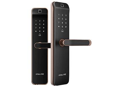 乐橙K2密码指纹锁智能锁  红外活体指纹识别 | 超B级锁芯 | 应急电源