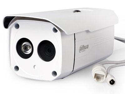 大华 网络枪机高清100万720P数字红外监控摄像头 DH-IPC-HFW1025B